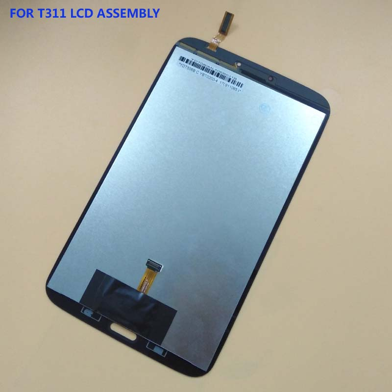 For Samsung Galaxy Tab 3 8.0 SM- T310 T311 Full Touch Screen Digitizer Glass Sensor + LCD Display Panel Monitor Module Assembly new 8 screen parts for samsung galaxy tab 3 8 0 t311 sm t311 lcd display matrix touch screen digitizer sensor free shipping
