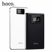 Original HOCO Power Bank 20000mAh For Xiaomi Mi 3 USB Ports Fast Charging Portable Powerbank for iPhone Redmi Huawei HTC Phones