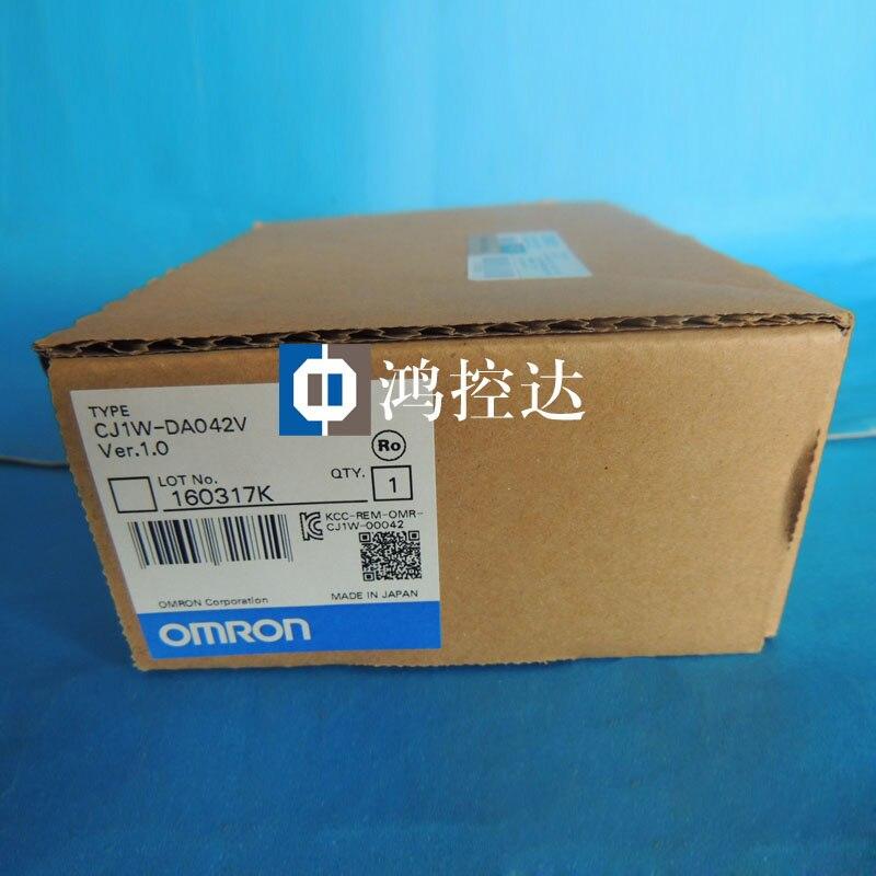 New Original OMROM PLC Module CJ1W-DA 042V