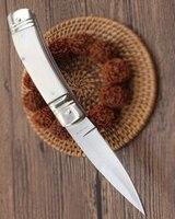get leather sheath bone AKC BM3300 A07 A162 C81 A07 B07 A161 BM3350 camping folding pocket knife outdoor Survival Tactical knife