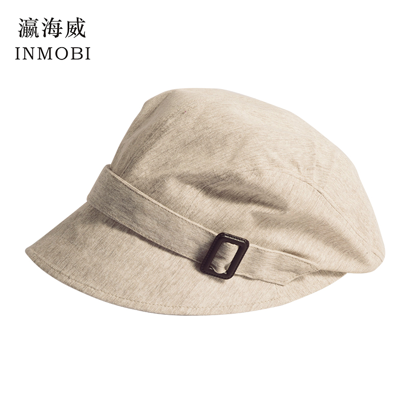 Competent Fashion Cotton Sun Hat For Women Summer Outdoor Foldable Beach Hats Adjustable Beige/pink/blue Wide Brim Casual Visor Caps Femme Moderate Cost