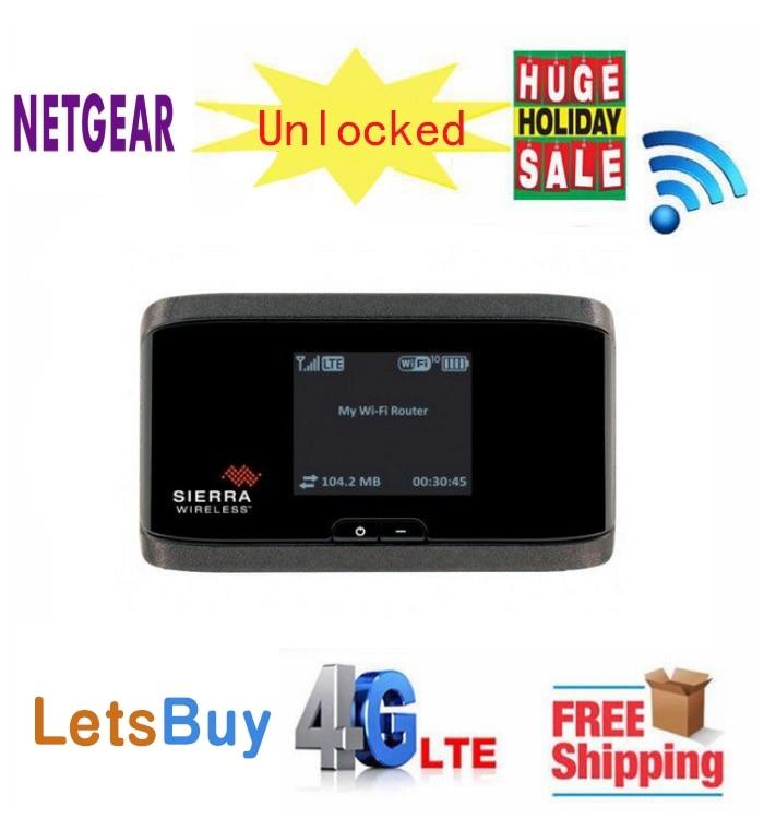 Original AirCard 760S LTE 4G mifi Router Sim Card Slot 4G 3g LTE wifi dongle