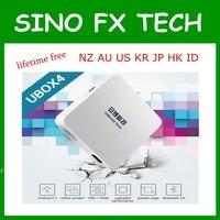 Ubox4 Unblock Tech S900 pro BT ubox gen 4 Android 5.1 TV box Bluetooth lifetime free IPTV for JP SG NZ KR MY AU CA US HK ID