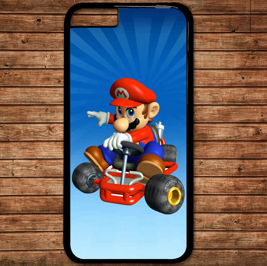 Mario Kart.jpg fashion cell phone case cover for iphone 4 4s 5 5s 5c SE 6 6s plus 7 7 plus &mm266