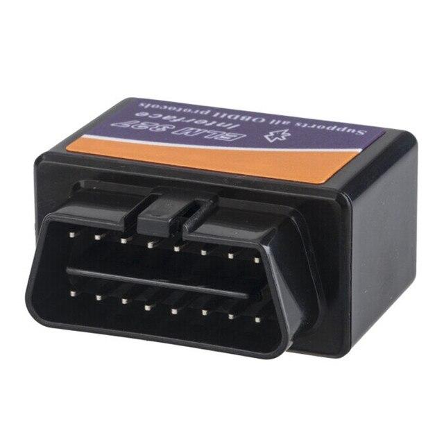 2017 Newest Super Mini ELM327 Bluetooth V1.5 OBD2 D2 Model Car auto vehicle Diagnostic Tool scanner code reader decoder