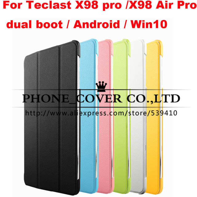 Top quality Lattice design hard case cover For Teclast X98 pro / X98 Air Pro dual boot / Android / Win10 9.7 tablet cases + film