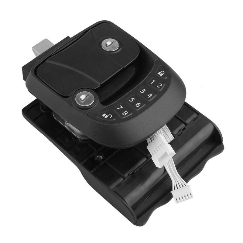 Voiture Auto Engineering Kit De Verrouillage De Porte D'entrée Système Anti-vol De Verrouillage avec Télécommande De Voiture Électronique Accessoires