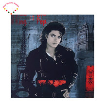 5D Diamante bordado estrela Pop Michael Jackson pintura diamante ponto cruz diamante redondo pintura diamante diy(China)