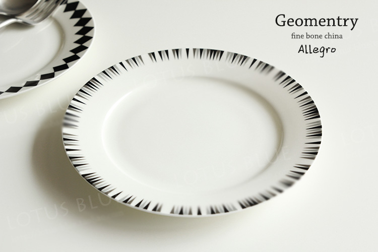 High Quality 8 Inch 45% Bone China Plate Western Dinner Plates Ceramic On glazed Round Dishes Steak Simple Brief Black Diamond-in Dishes u0026 Plates from Home ...  sc 1 st  AliExpress.com & High Quality 8 Inch 45% Bone China Plate Western Dinner Plates ...
