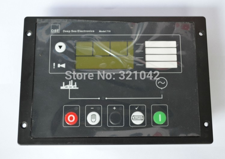 Generator Auto Start Control panel P710 replace DSE710 made in China Controller Genset controller free shipping deep sea generator set controller module p5110 generator control panel replace dse5110