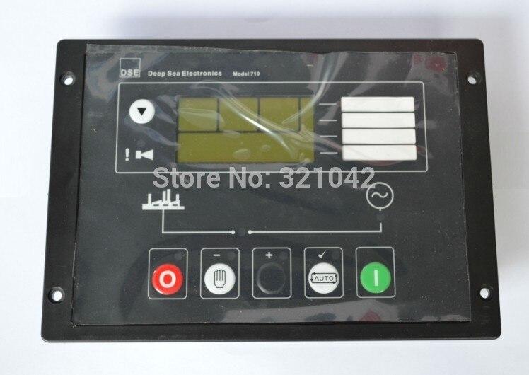 Panneau de commande de démarrage automatique du générateur P710 remplacer DSE710 fabriqué en chine contrôleur de groupe électrogène