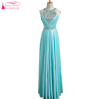 Mint Green Long Prom Dresses 2018 In Stock 10 colors Spark Elegance Evening Formal Gowns Cheap China ZP048