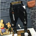 Korean children 2017 new spring boys all-match personalized fashion ripped jeans children handsome jeans