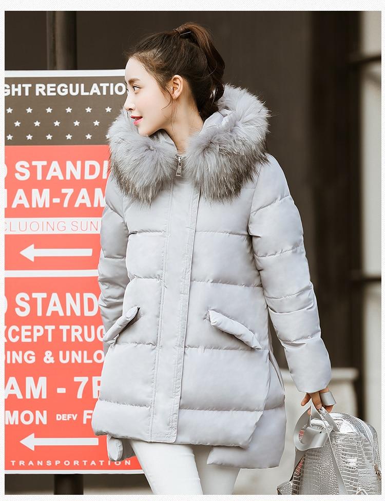 KMETRAM модная зимняя куртка из хлопка женская элегантная трапециевидный плащ парка Толстая стеганая средней длины Женское пальто HH456
