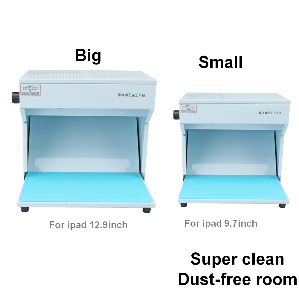 Dust Free Room Mobile Phone Repair Cleaning Work Table for LCD Screen Fix  with high Temp Anti Static Rubber Mat 220V/110V