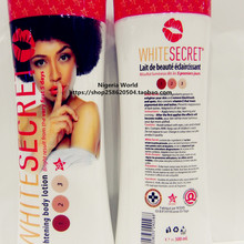 WHITE SECRET | Lightening Body lotion | 300ml | AFRIWORLD X 1pcs