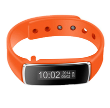 YCYS-V5 Bluetooth Smart Watch Pedometer Step Walking Distance Calorie Counter Sport Tracker (Orange)