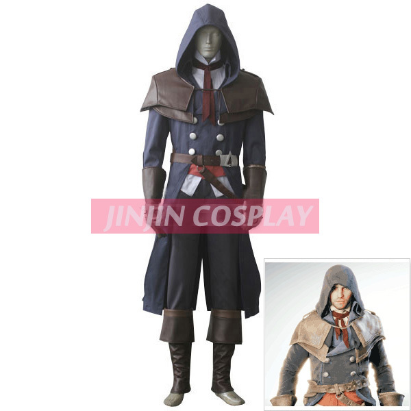 Assassin S Creed Cosplay Costume Unity Arno Dorian Fearless Outfit