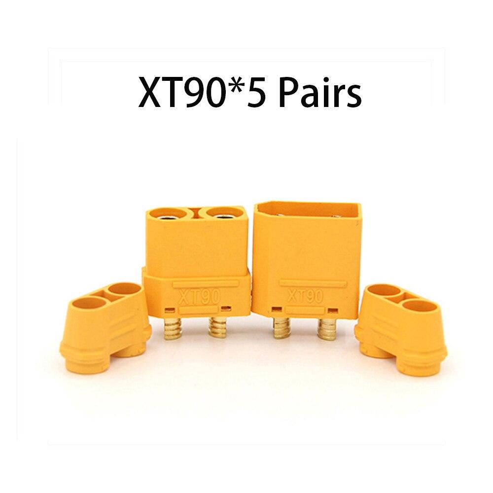 Коннектор AMASS 10 шт. XT60 XT-60 XT 60 XT90 XT60H XT60L XT60U XT60PW XT30U XT90S T Дин EC3 EC5 AS150 XT150 XT30PW XT90PW для Lipo Батарея - Цвет: XT90