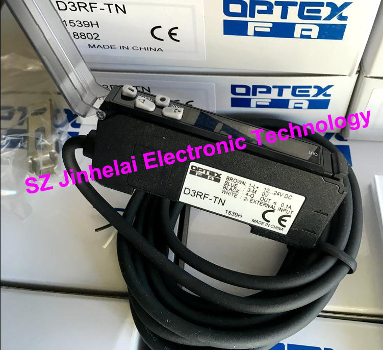New and original D3RF-TN  OPTEX  Optical fiber amplifier e3x hd10 new and original ormon photoelectric switch optical fiber amplifier 12 24vdc 2m
