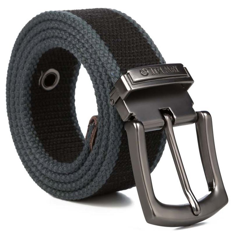 2019 Weave canvas   belt   men military workout Casual Jeans Brand   Belt   Young student needle Buckle-  Belt   Male Tactical waist   Belt