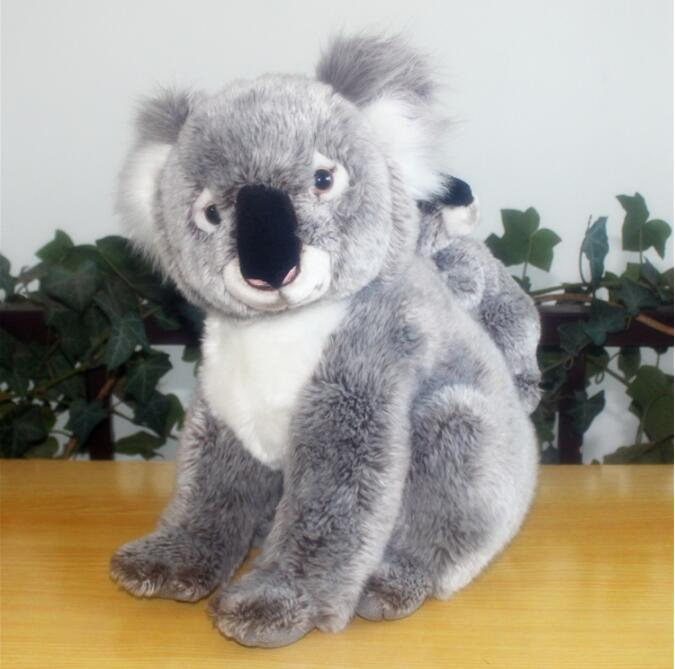 Big Toy Plush Koalas Doll  Simulation  Animal Toys Baby And Mother Koala Dolls Gifts For Birthday 30cm 45cm plush toy koala stuffed and soft animal toys simulation australian koala doll best gift for children kid free shipping