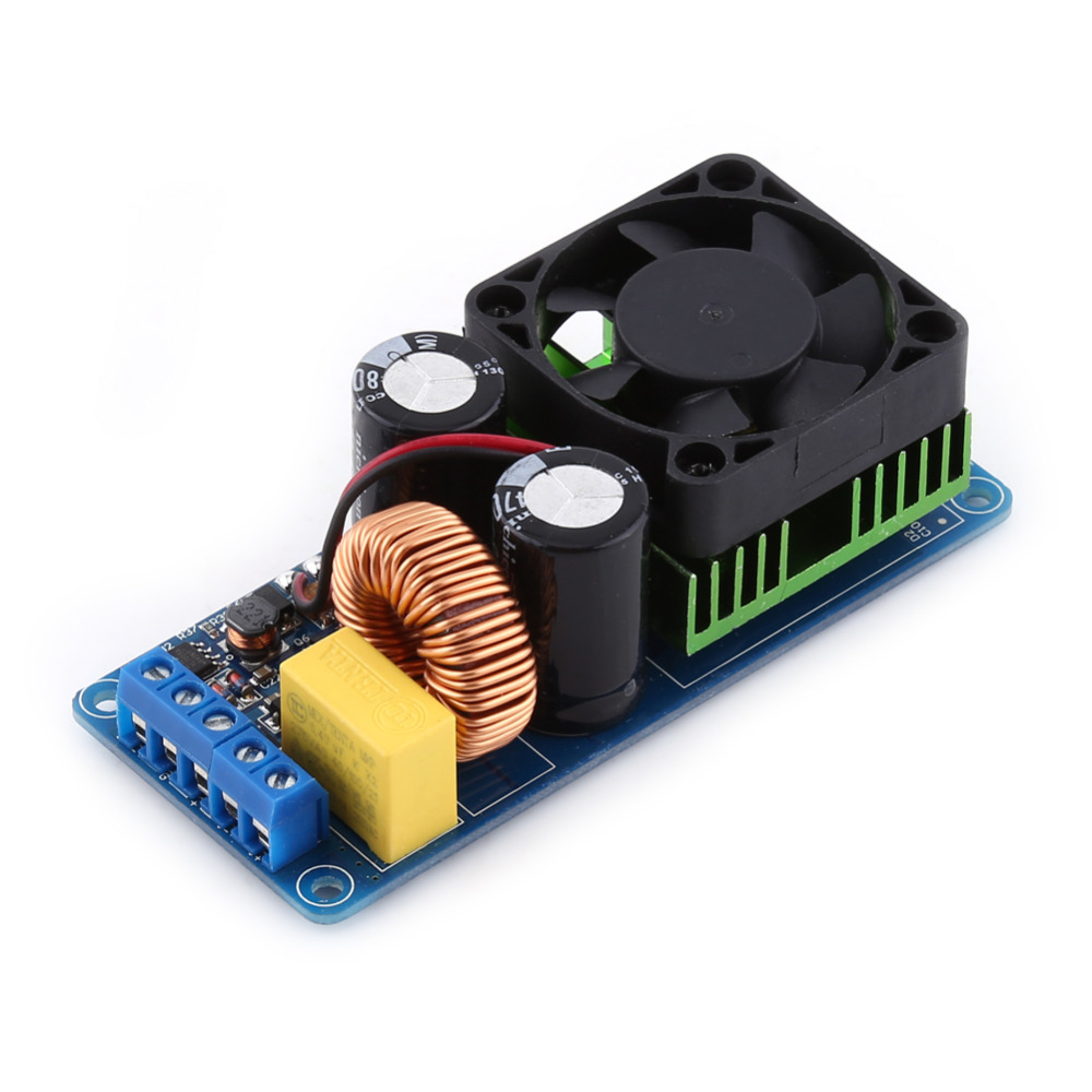 500W Audio Power Amplifier Board Big Power Class D High Fidelity Single Channel  with Fan Audio Amplificador  Audio Mixer Moulde new arrival stencil diy scrapbooking clear stampbird and flowers for wedding paper card christmas gift rm 049