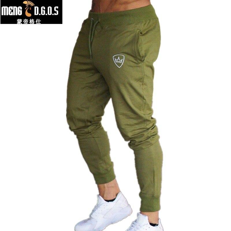 2018 Nuevos Hombres Joggers Marca Pantalones Masculinos Pantalones - Ropa de hombre