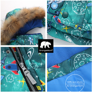 Image 2 - Orangemom חנות רשמית 2018 אופנה לפעוטות בני בגדי סט לעבות חורף מעילי ילדי הלבשה עליונה & מעילי סקי שלג