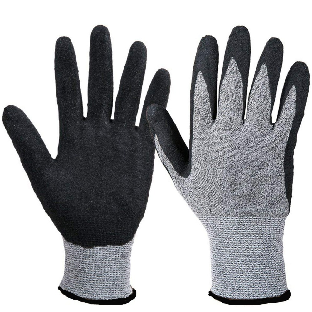 1pair Anti-cut Nitrile Coated Working Gloves Cut Proof Safety Working Gloves Men Matte Wear-resistant Non-slip Protective unisex1pair Anti-cut Nitrile Coated Working Gloves Cut Proof Safety Working Gloves Men Matte Wear-resistant Non-slip Protective unisex