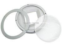 100mm Optical Glass Projector Lens 108mm Base Holder Reflection Cup For 200W Led Lens