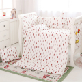 Toddler Crib Bedding Set,Baby Bed Bumper Sheets,Bedding Sets for Kids,Baby Cot Bumpers Pillow Nursery,Winter Baby Bed Protector