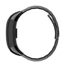 Substituição Pulseira de Aço inoxidável Watch Band Strap para Garmin HR Vivo Inteligente Nova Chegada