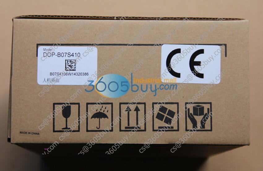 Delta HMI Touch Screen DOP-B07S410 New Original 1 year warranty