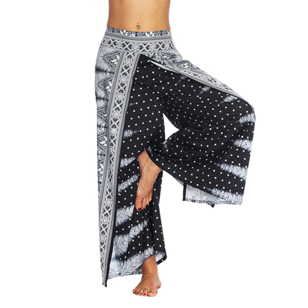 Sleeper#401 2019 NEW FASHION Women Casual Summer Loose Trousers Baggy Boho Aladdin Jumpsuit Harem   Pants   hot sale Free Shipping