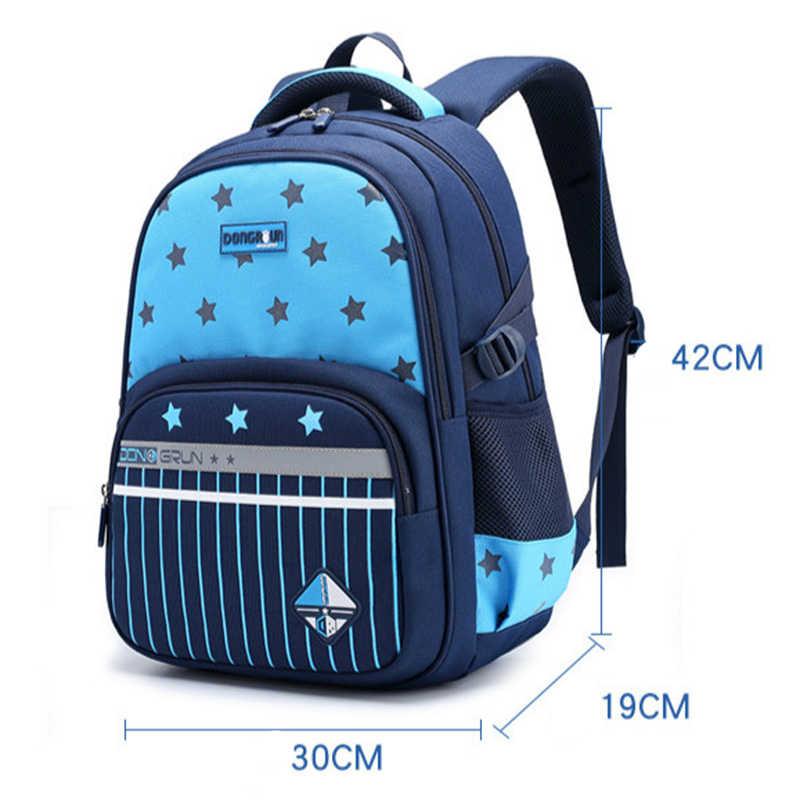 שקיות תינוק ילדי ילקוטי Waterproof עבור ילד ילדה אורטופדי בית ספר Backpcak ילקוטי ילדי תרמיל ילדים Escolar Infantil