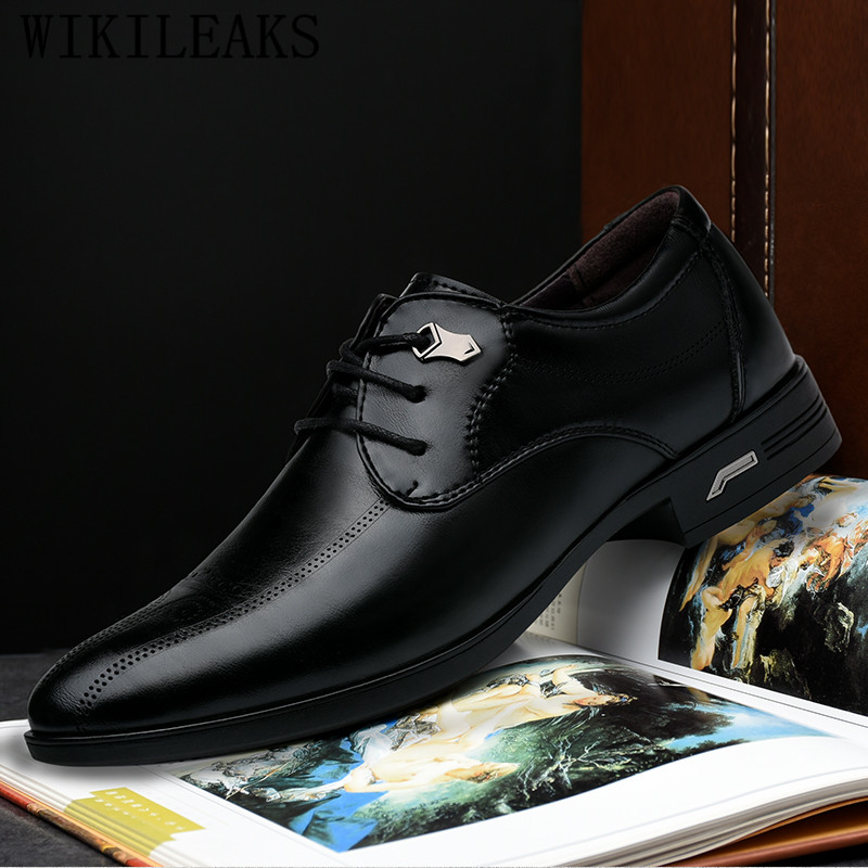 1bd3d7afe8 brogues mens dress shoes formal shoes men designer italian oxford shoes for  men casual wedding shoes sapato social masculino