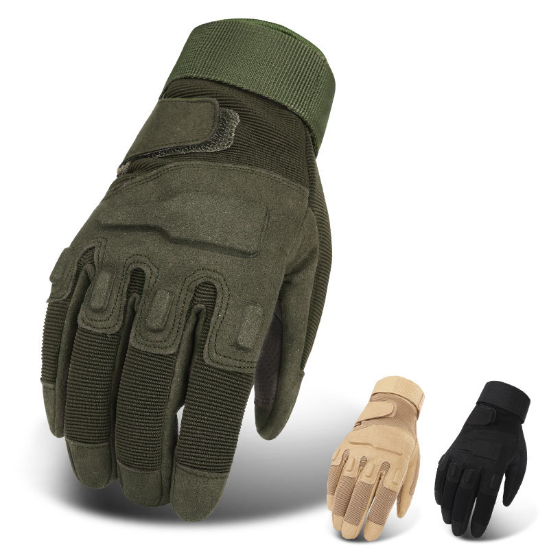 Military Tactical Gloves Army Airsoft Gloves Men Police Special Torces Outdoor Shooting Gear Paintball Hunter Half Full Gloves(China)