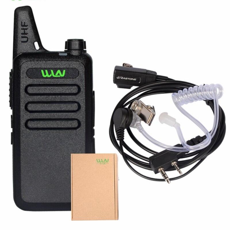 imágenes para WLN KD-C1 cable Mini Portátil de Radio de largo Alcance con el programa Transceptor Jamón hf transceptor de radio walkie talkie