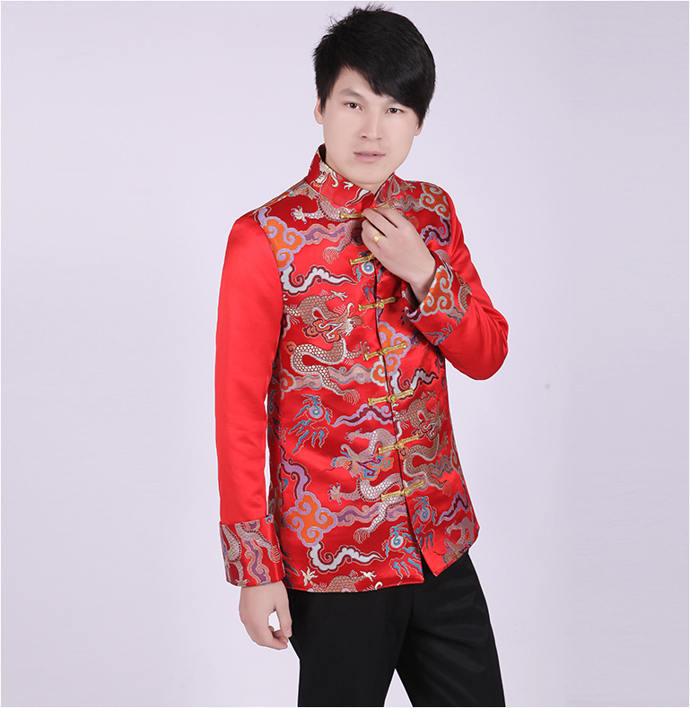Mens Traditional Clothing Groom Wedding Qipao Chinese Ancient Costume Red Tunic Tang Suit Gown Dress Cotton Hanfu sexy sports bra and leggings