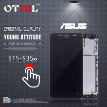 OTMIL 6.0Original Display For ASUS ZenFone 6 LCD Touch Screen with Frame Digitizer Zenfone A600CG A601CG T00G #1