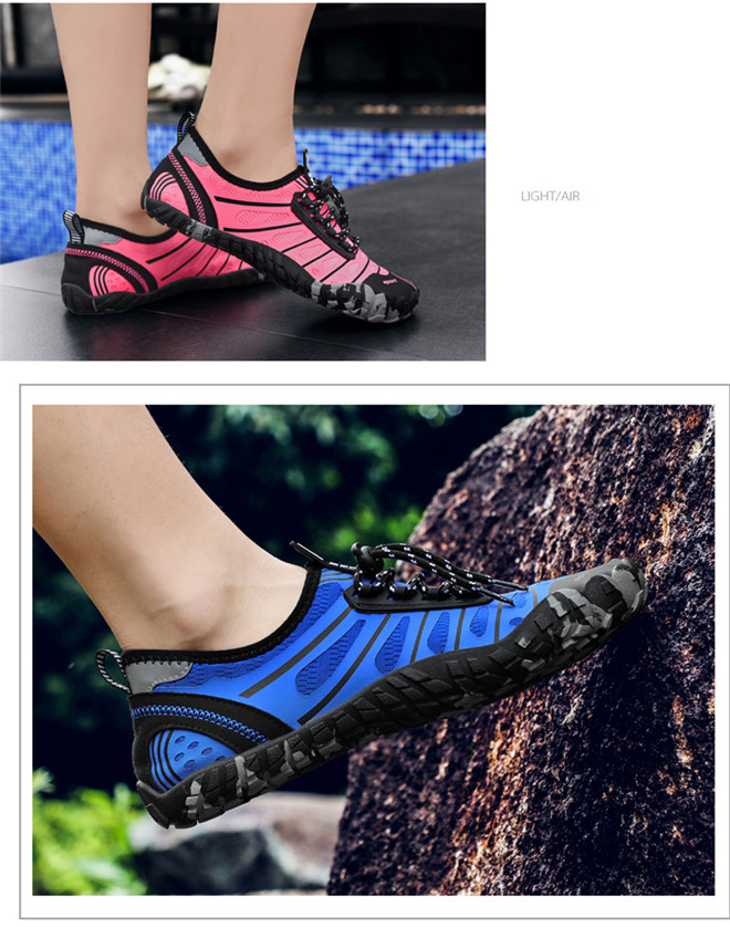 Unisex Swimming shoes Water Shoes Bicycle Seaside Beach Surfing Slippers Skiing Outdoor Five Finger Soft Fitness Light Shoes (13)