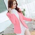 New Fashion Spring Slim Women Blazer Coat Casual Suit Jacket One Button Ladies Blazers Work Wear Blaser Basic jackets JN035