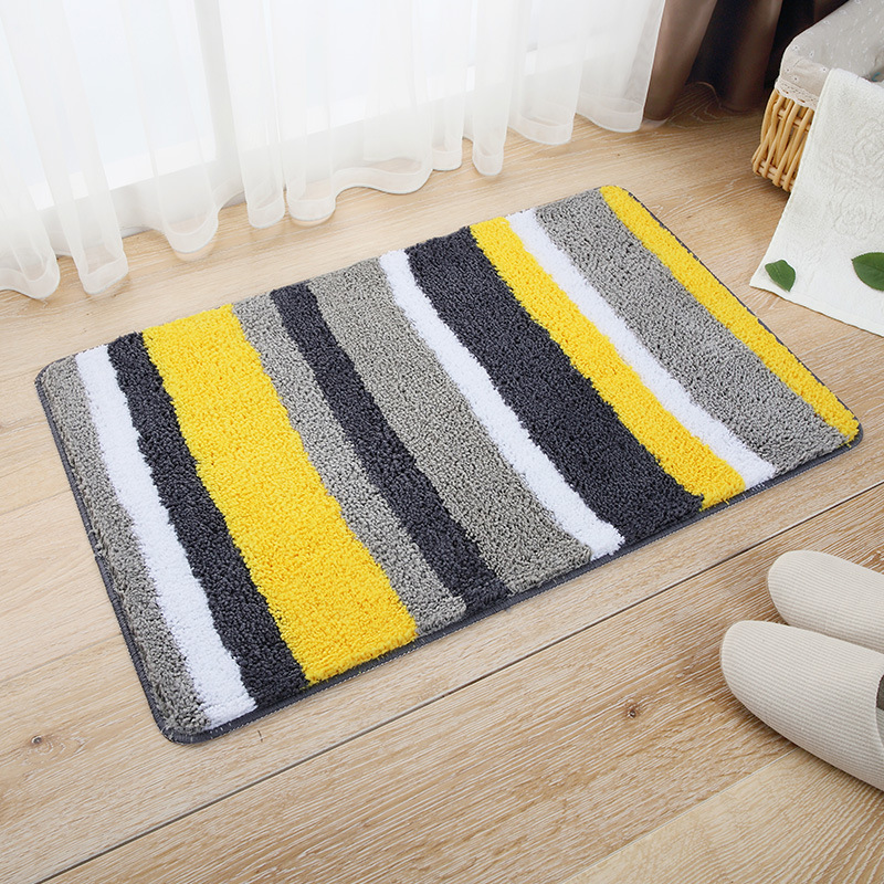 Modern Indoor Cushion Kitchen Rug Anti-Fatigue Floor Mat