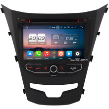 4G Android 6.0 7″ WiFi Octa Core PX5 4GB RAM 32GB ROM DAB AUX FM Car DVD Multimedia Player Radio For SsangYong Korando 2013-2016
