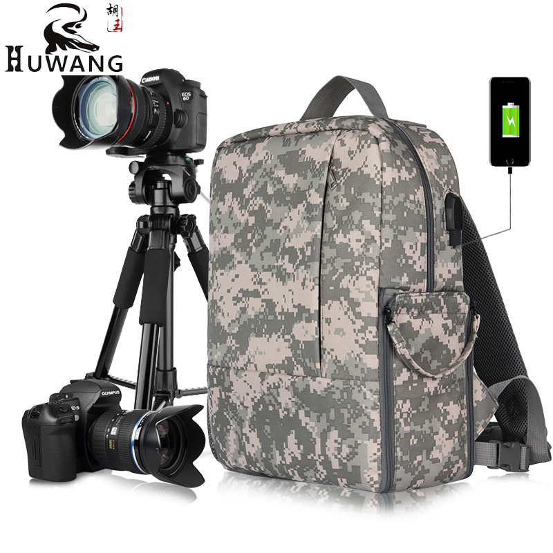 New Fashion Camouflage Digital Backpack Camera Bag Outdoor travel photography  Waterproof bag for Canon Nikon Drop Shipping - aliexpress.com - imall.com 5001d52c2b9ed