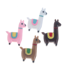 20Pcs Mixed Resin Horse Decoration Crafts Flatback Cabochon Scrapbooking Fit Phone Embellishments Accessories