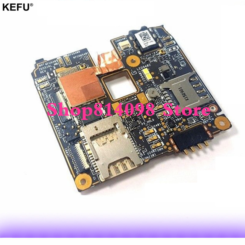 16GB Rom Motherboard Mainboard Logic Board Circuits for ASUS ZenFone Selfi ZD551KL ZOOUD 16GB Chargers