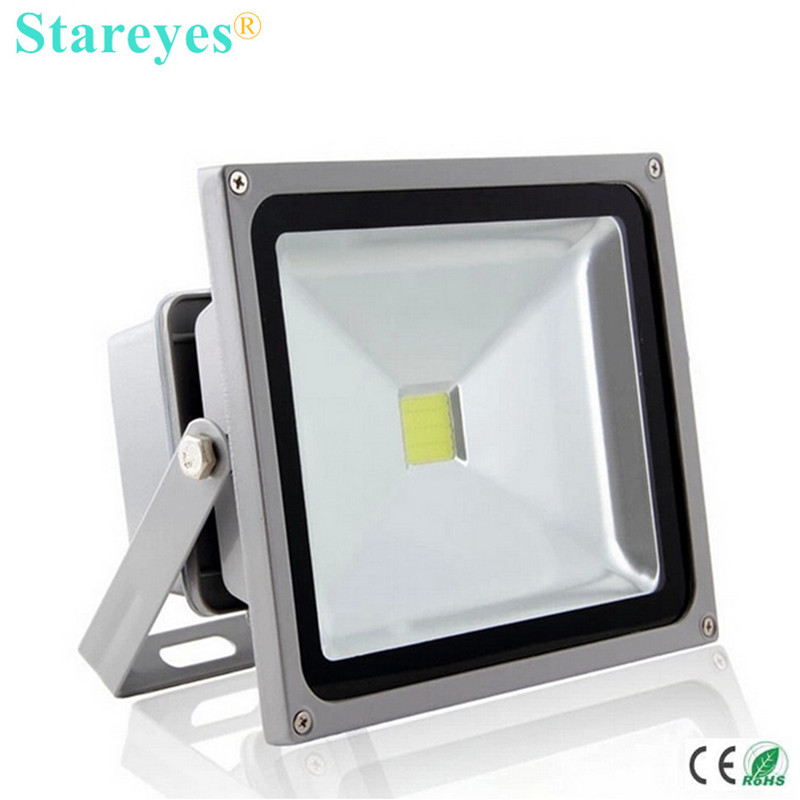 Free shipping 1 piece 10W <font><b>20W</b></font> 30W 50W 100W High power <font><b>LED</b></font> <font><b>Floodlight</b></font> Light Bulb Lighting Outdoor flood lamp spot light Omni image