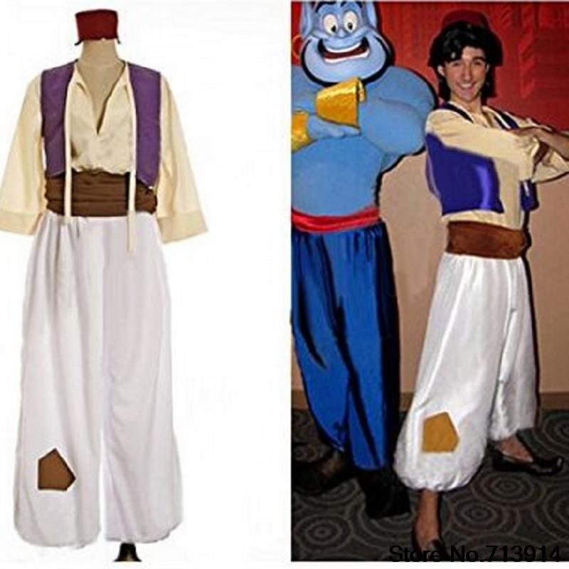 Us 25 43 20 Off Genie Costume Pants For Men Kids Magi Aladdin Jasmine And Aladdin Costumes For Adults Aladdin Adult Cosplay Princess In Holidays